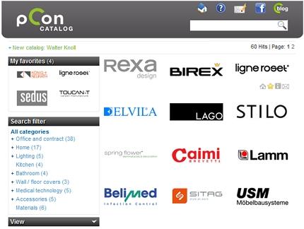 Neues pCon.catalog Portal online