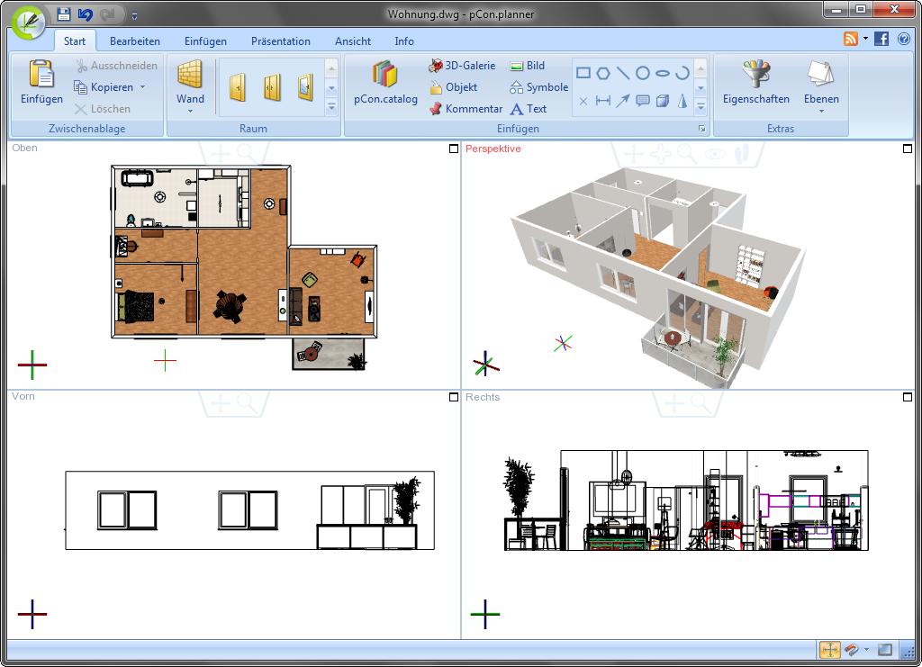 3d raumplaner mit geschichte pcon blog for Innenarchitektur 3d software