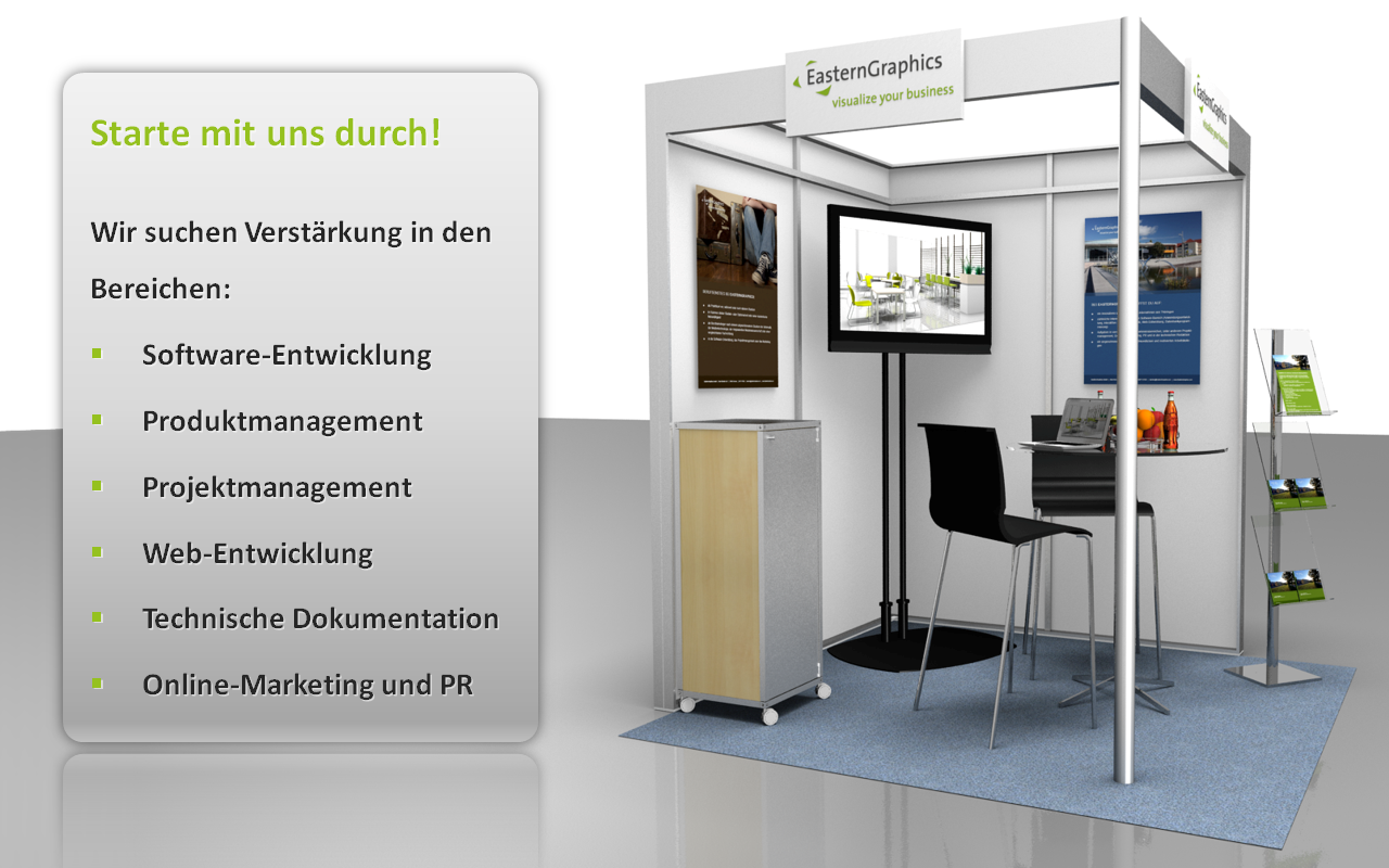 Academix Messestand