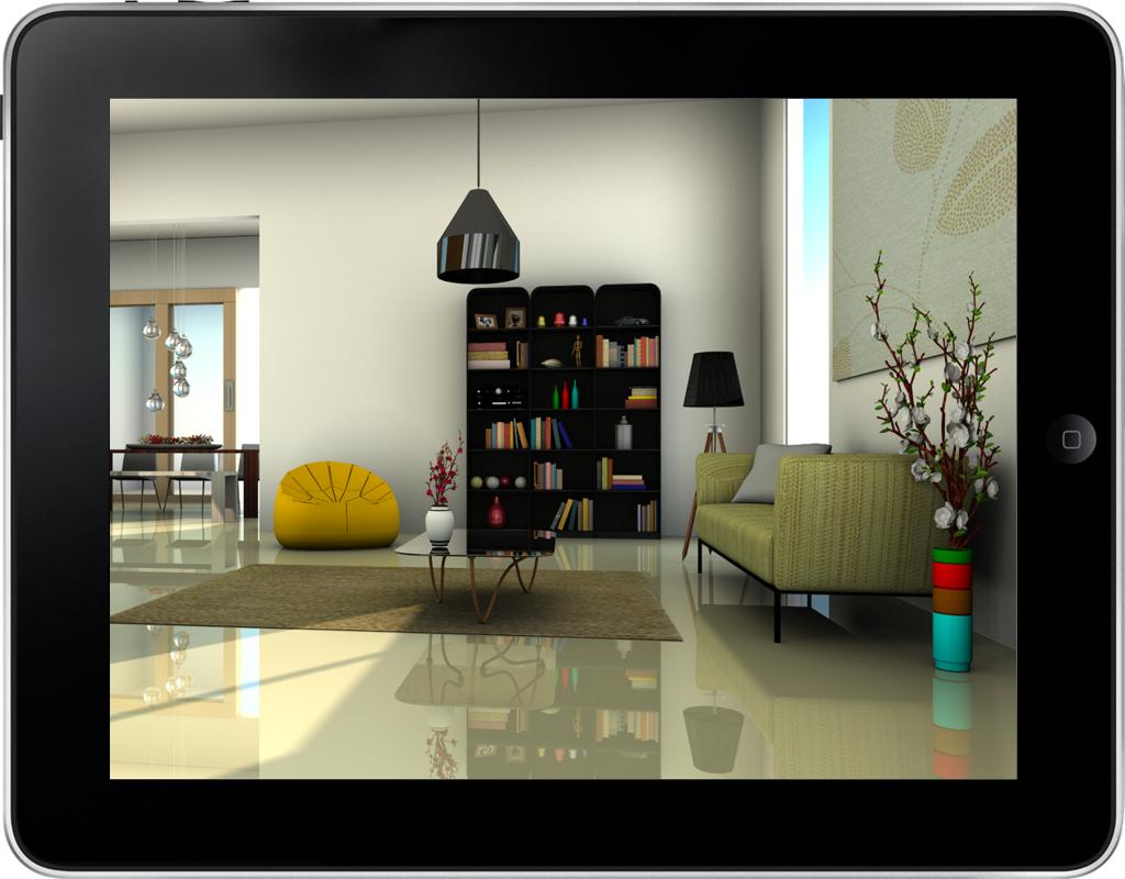 Planungen auf dem iPad präsentieren