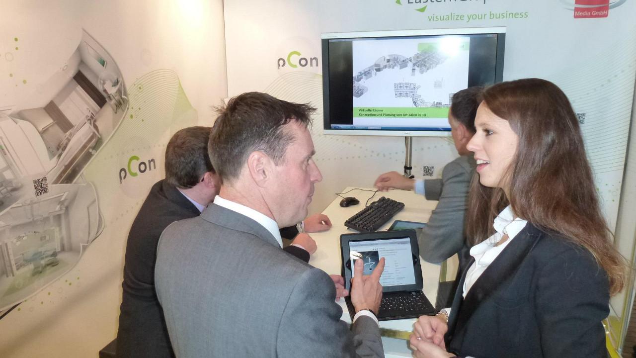 pCon Technologie begeistert Messebesucher der MEDICA