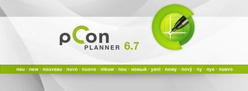 Laden Sie den neuen pCon.planner 6.7 herunter!