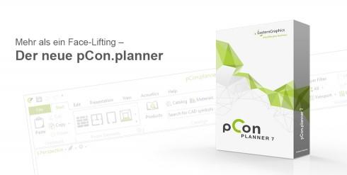 Slogan und Box pCon.planner