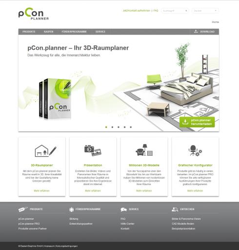 pCon.planner Website