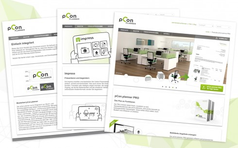 pCon.planner Website aktualisiert