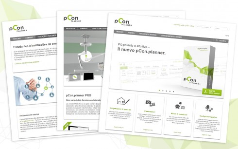 pCon.planner Website in 3 weiteren Sprachen online