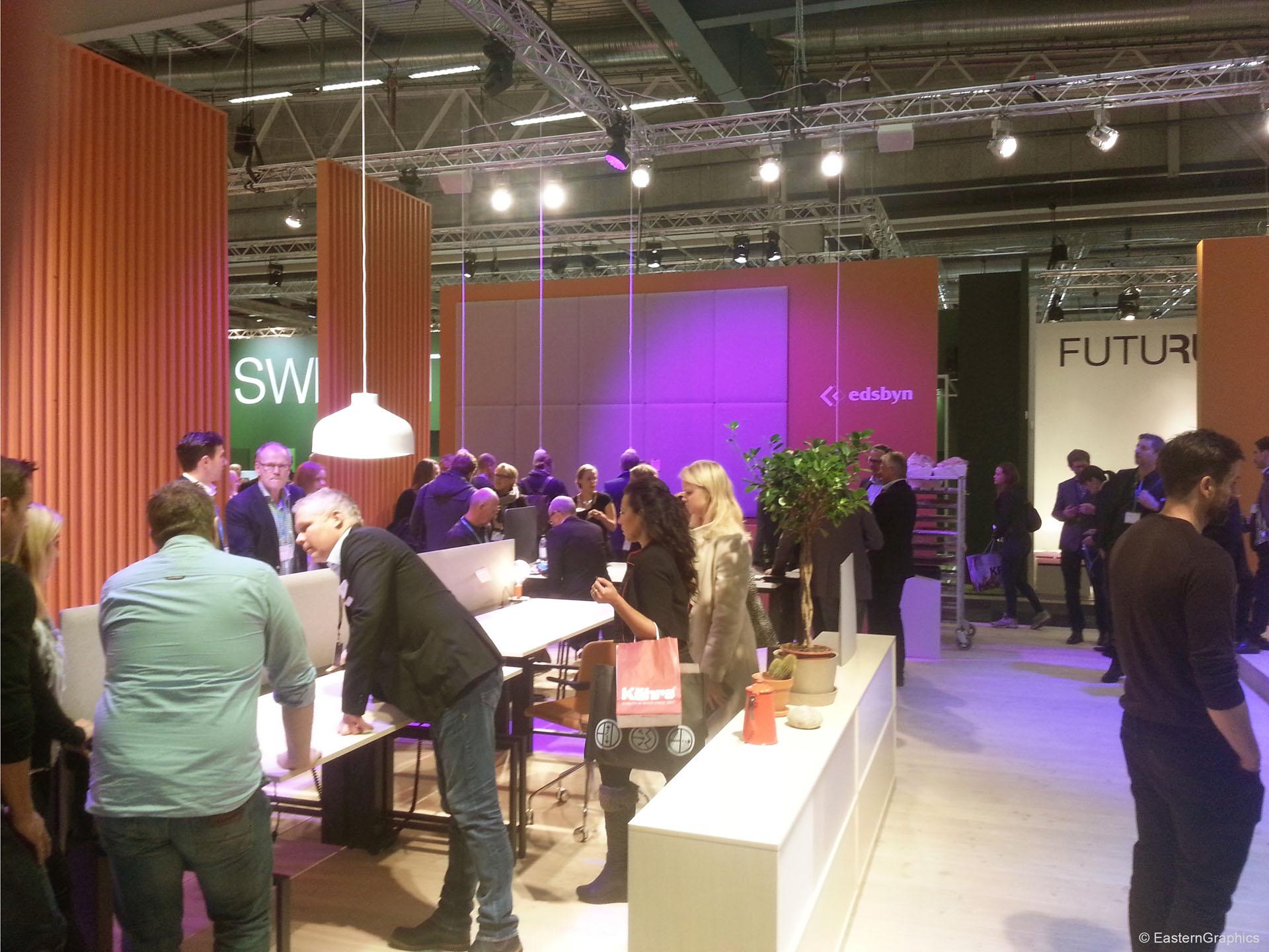 Eindrücke der Stockholm Furniture & Light Fair 2015 - Edsbyn