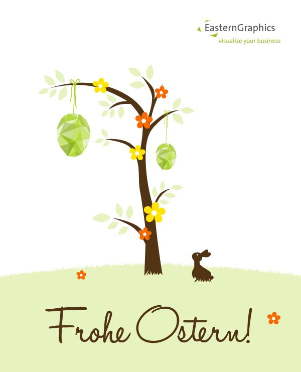 Wir wünschen Ihnen ein frohes Osterfest und erholsame Feiertage