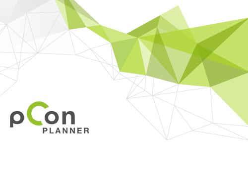 Mit dem pCon.planner präsentieren Sie Ihre Raumplanung.