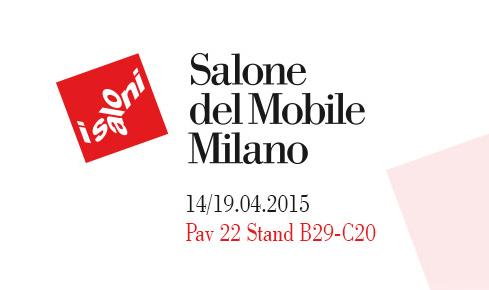 Besuchen Sie uns auf der Salone del Mobile in Mailand