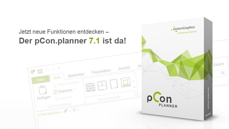 Entdecken Sie die neuen Funktionen im pCon.planner 7.1