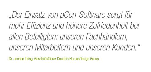 Der Einsatz von pCon-Software sorgt für mehr Effizienz und höhere Zufriedenheit