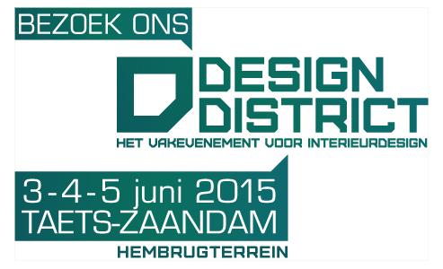 Besuchen Sie uns auf der Design District in Zaandam