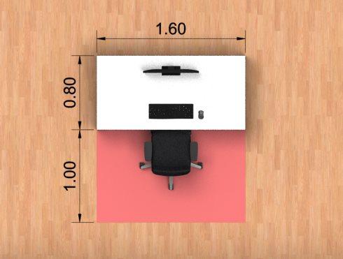 Benutzerfläche & freie Bewegungsfläche
