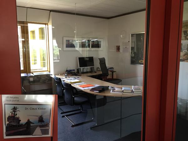 Büro im ZDF-Gebäude