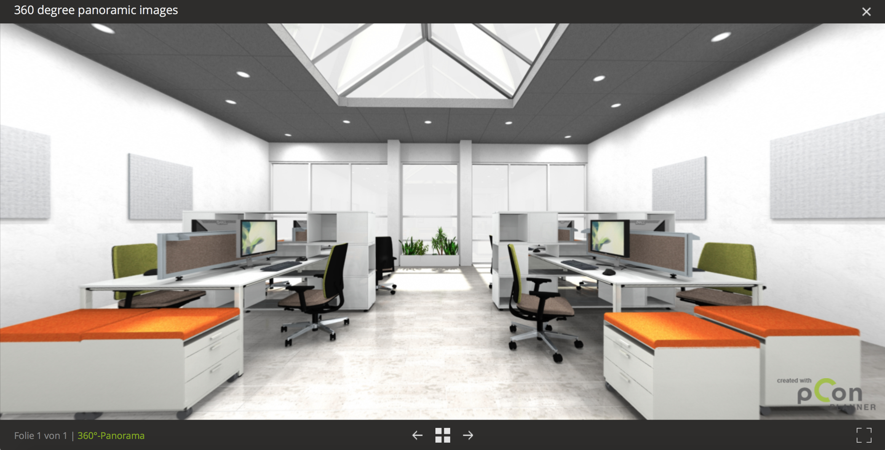 When a picture just isnt enough... room planning presentation pCon.planner panorama impress image rendering