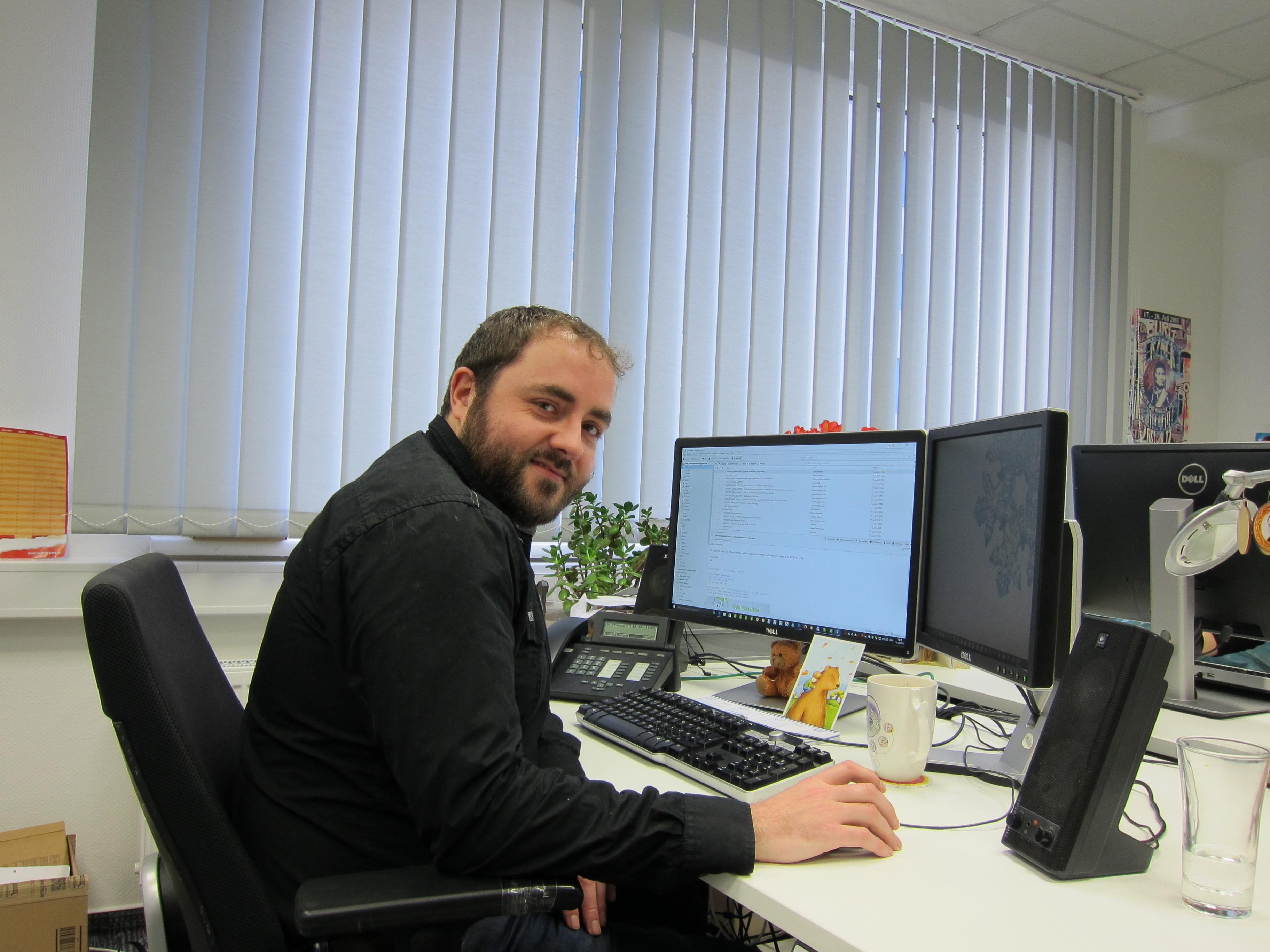 Dennis aus dem EasternGraphics Support-Team