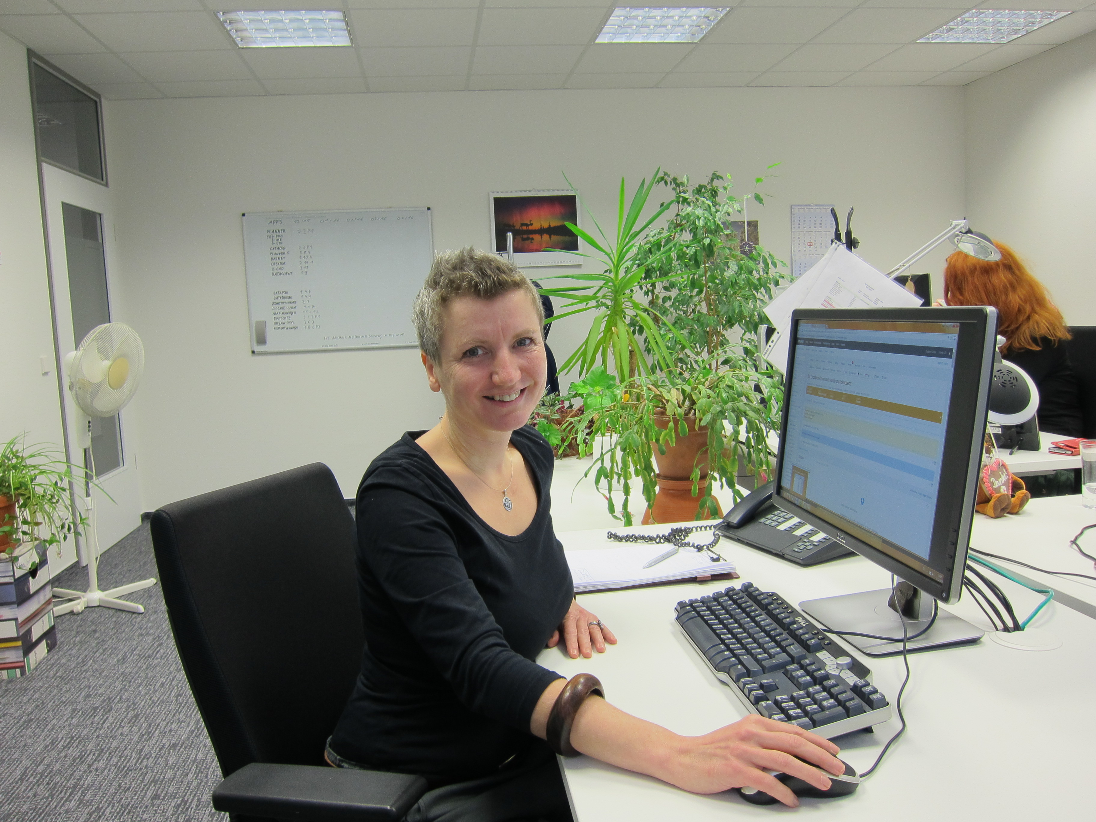 Andrea aus dem EasternGraphics Support-Team
