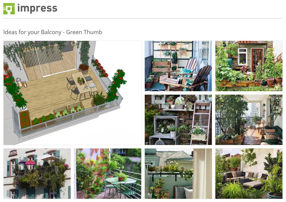 Balkonideen für grüne Daumen
