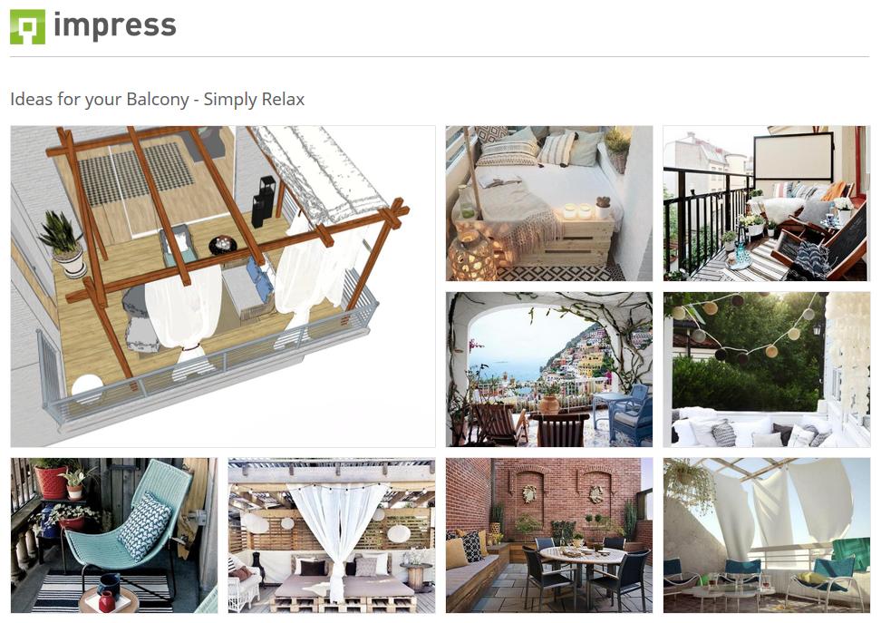 Balkonideen für entspannende Oasen