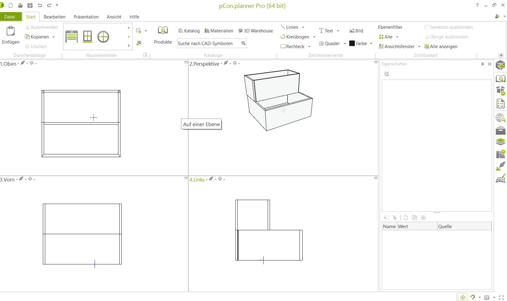 Der Blick von oben: Zwischengeschosse und Lofts erstellen Raumplanung pCon.planner