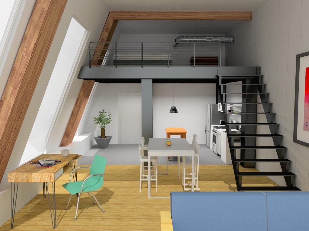 Der Blick von oben: Zwischengeschosse und Lofts erstellen