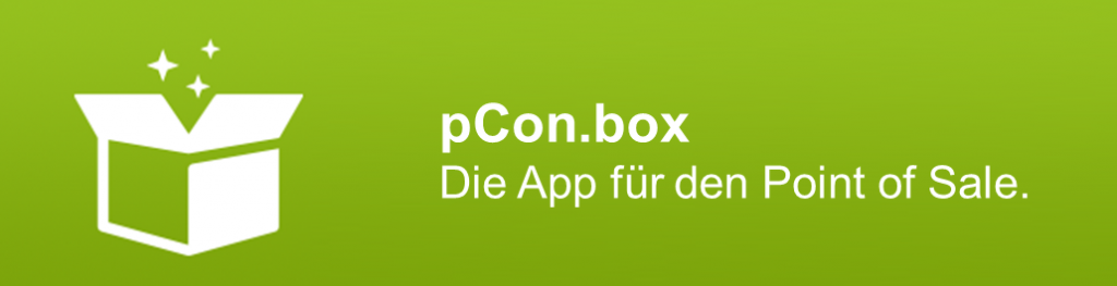 pCon.box - die App für den Point of Sale