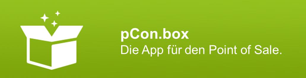 pCon.box - die App für den Point of Sale