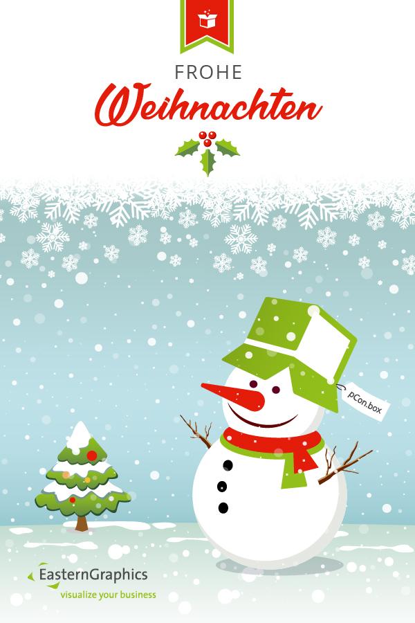 EasternGraphics wünscht frohe Weihnachten! Weihnachten Feiertag EasternGraphics