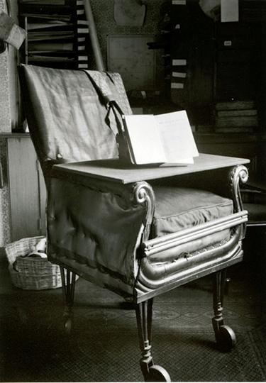 Charles Darwins Bürostuhl