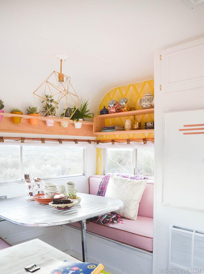 The Nugget - DIY Wohnwagenrenovierung, die sich sehen lassen kann