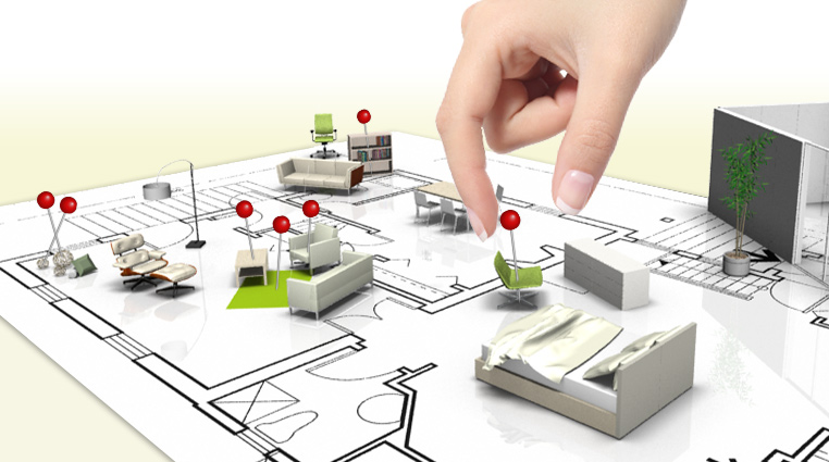 3d raumplaner inneneinrichtung design software dwg for Raum planung software