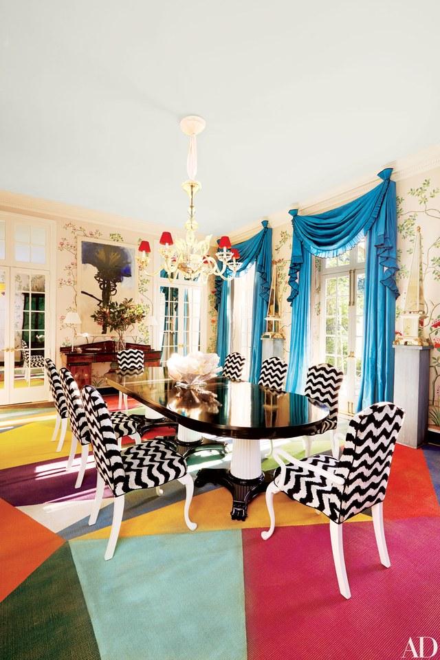 Bunte Statements mit Colorblocking! Interior Design Colorblocking