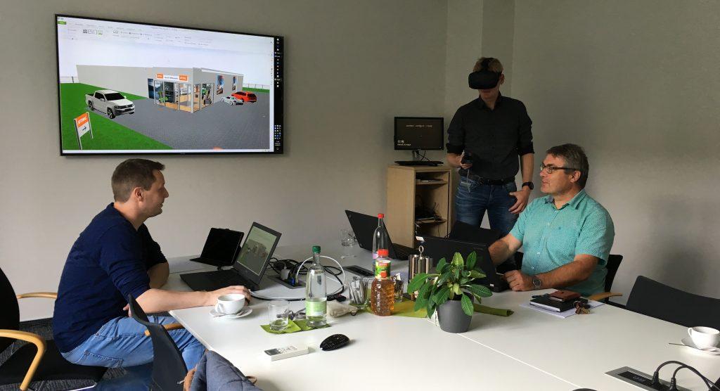 VR-Training für STIHL