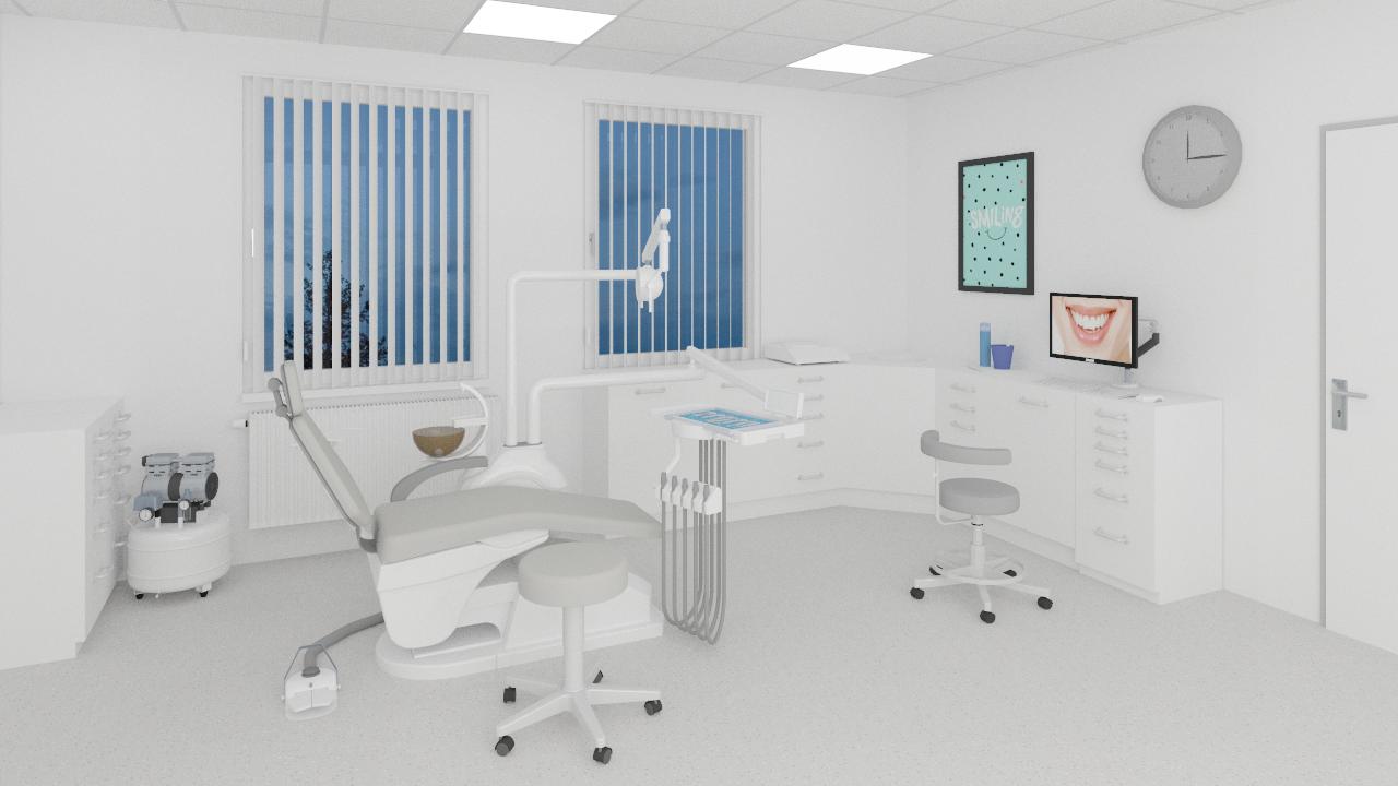 Dentalräume visualisieren - Stomacom im pCon.catalog