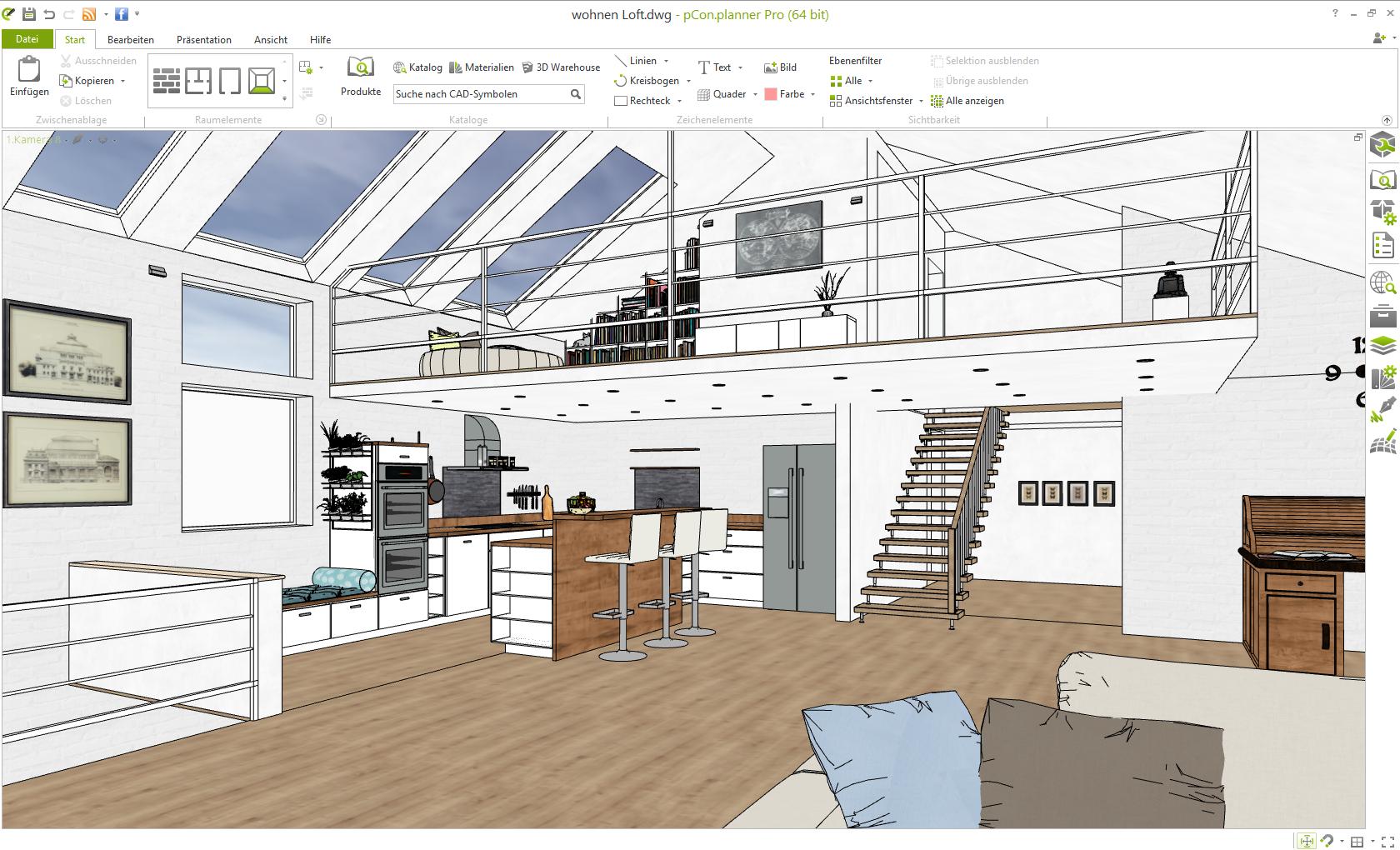 3d beratungstool f r architekten und fachplaner pcon blog. Black Bedroom Furniture Sets. Home Design Ideas