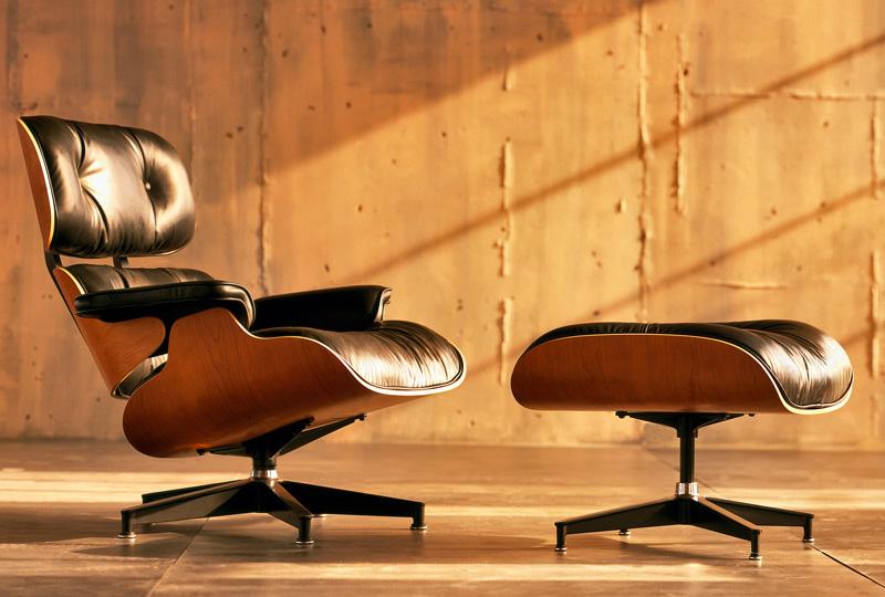 Was wir von den außergewöhnlichen Designern Charles und Ray Eames lernen können Lounge chair ottoman Charles Ray Eames