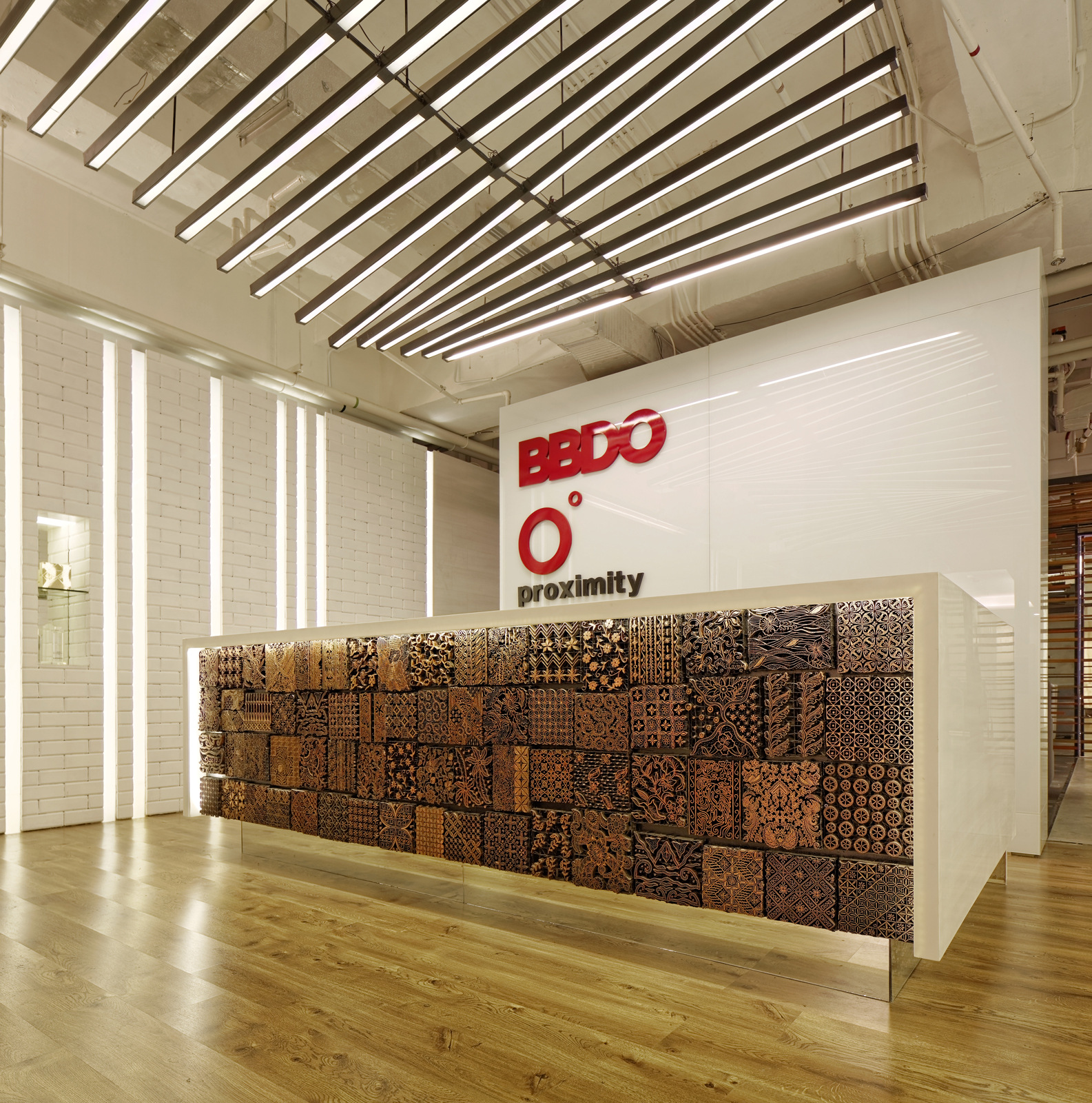 Entrance area of BBDO Indonesia