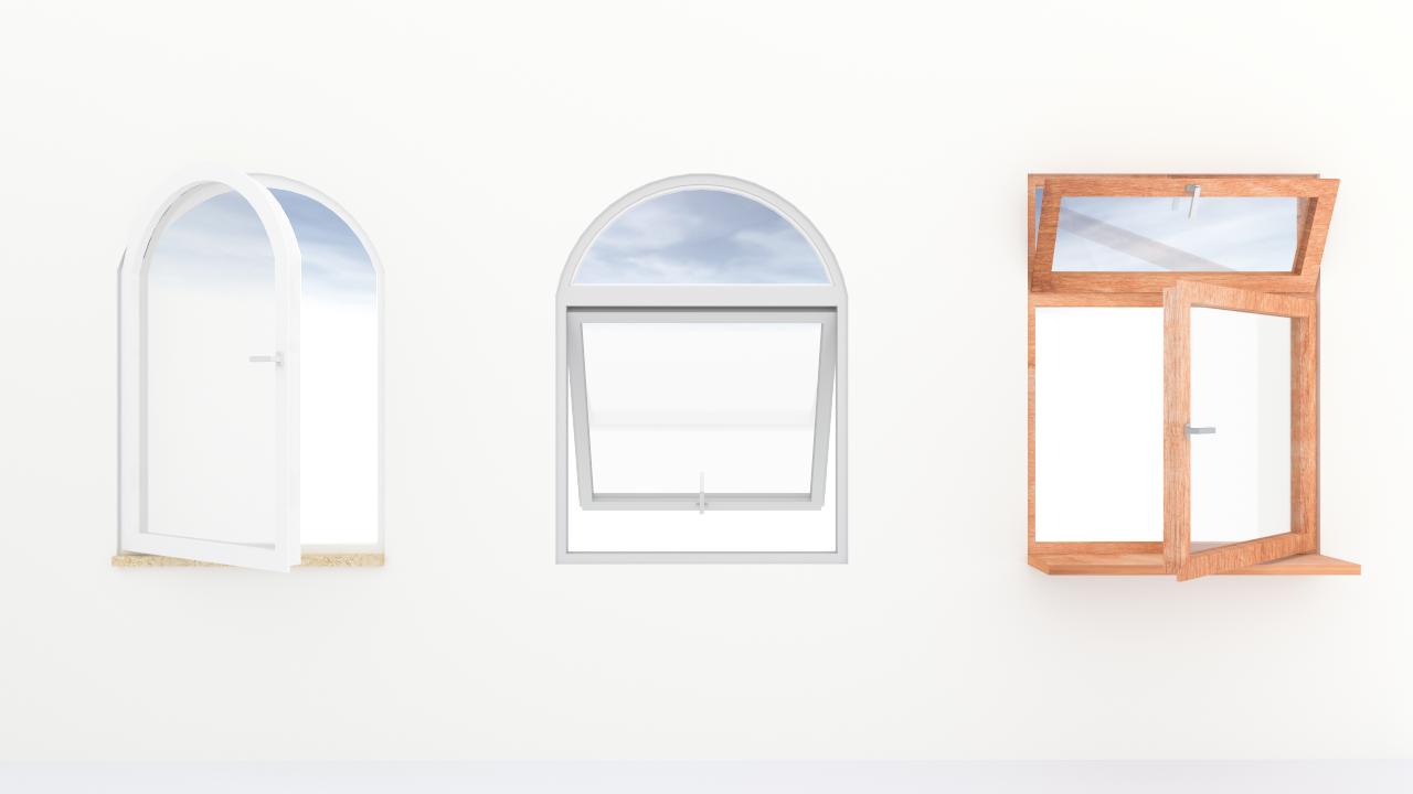 Neue Gestaltungsoptionen für Fenster