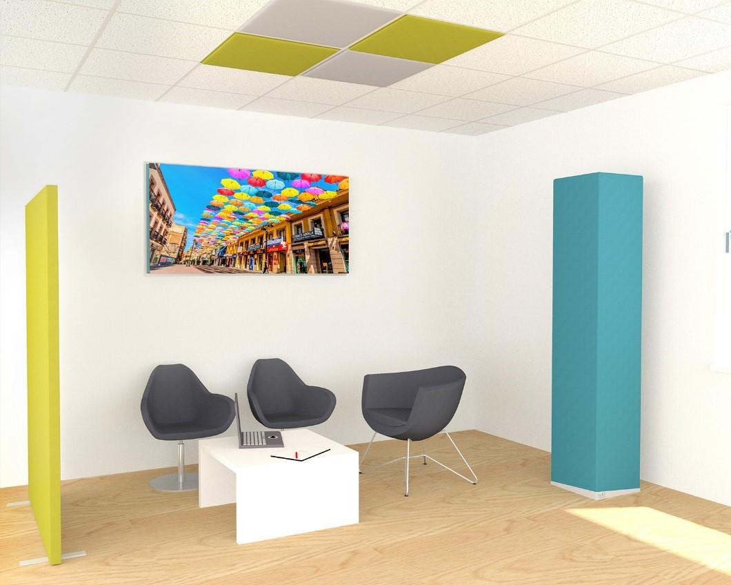 Entdecken Sie myO – die dekorativen und akustischen Produkte aus Frankreich ! pCon.planner myOpenspace Bibliothek Akustik