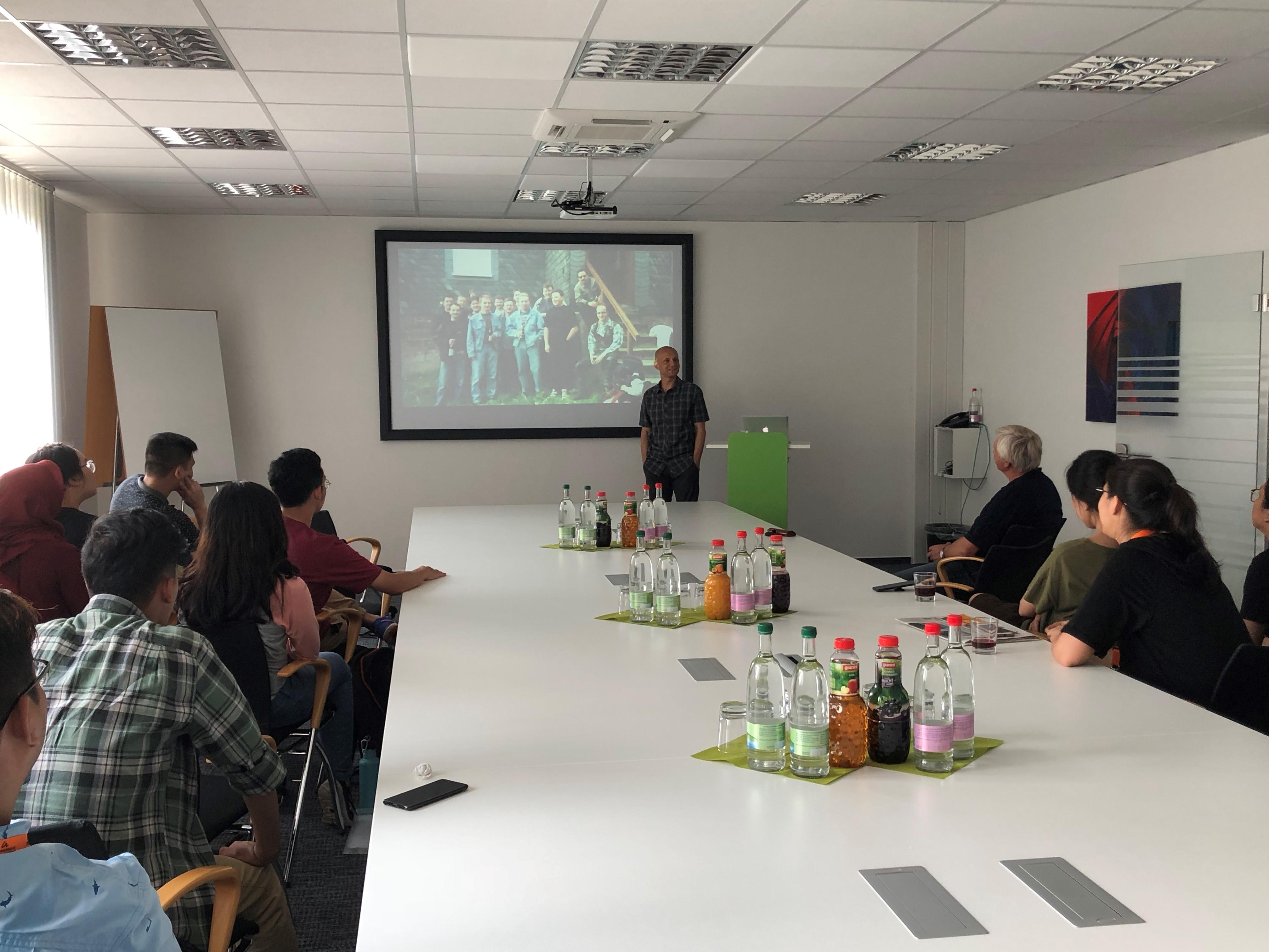 Vortrag zur Geschichte von EasternGraphics mit unserem CEO