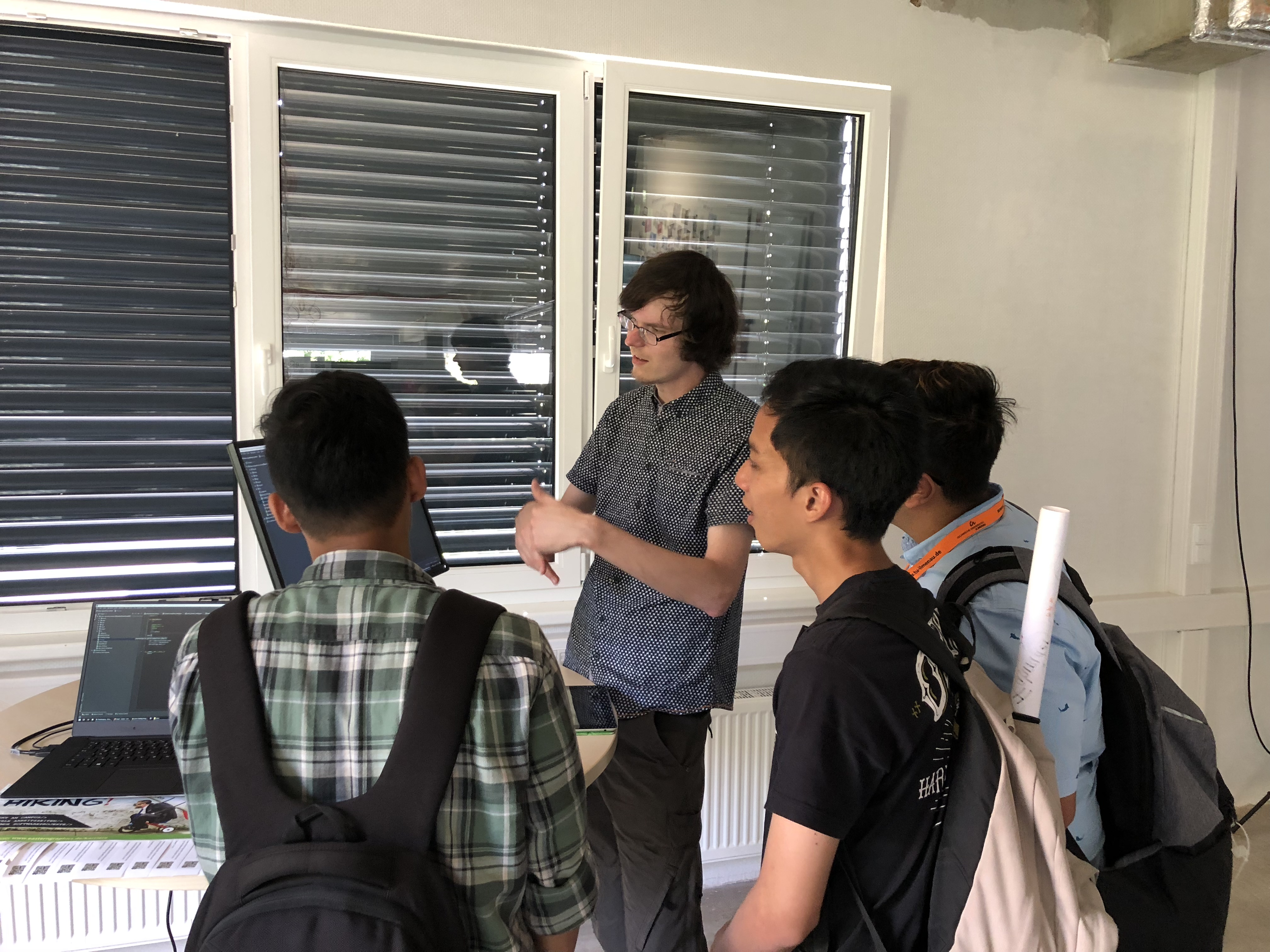 Präsentation von Projekten aus der Praxis