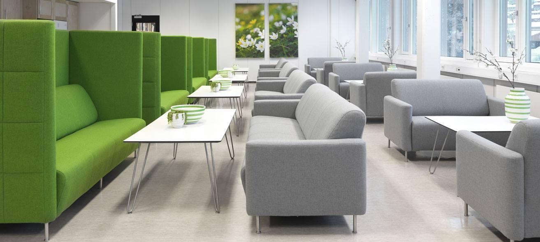 Büro- und Entspannungsmöbel von Ekornes® Contract AS