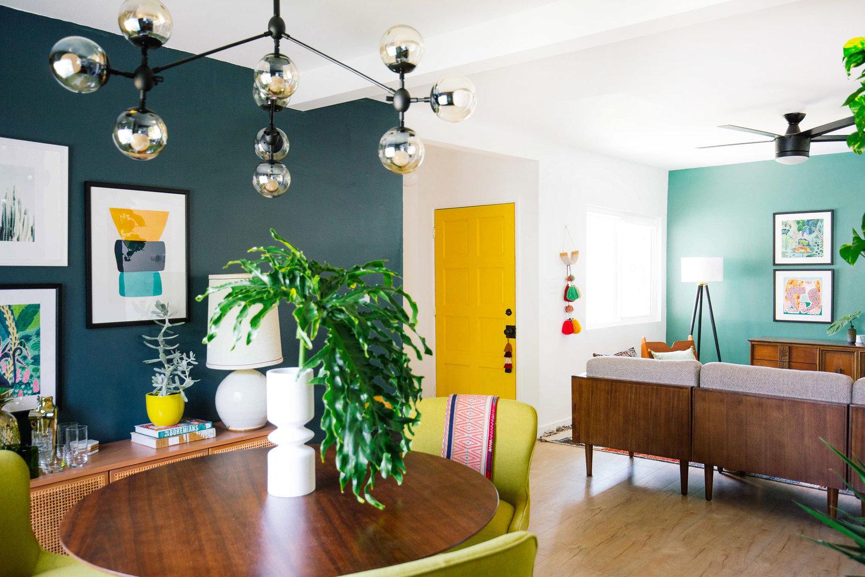 Sommerlich - Farbenfrohe Raumgestaltung weckt Erinnerungen an Kindheitssommer
