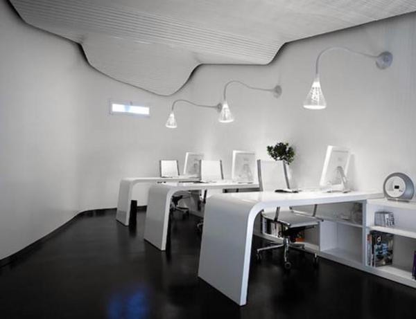 Minimalistische Büromöbel