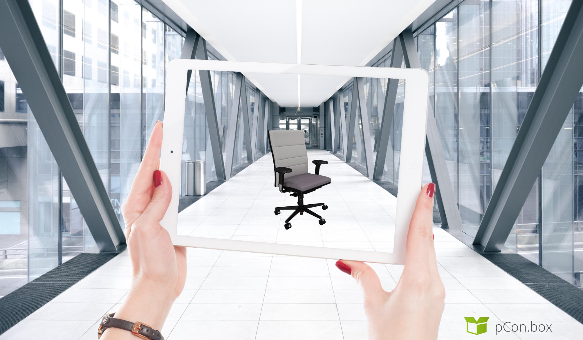 Appsolut cool! Neue pCon.box mit AR schon erkundet? pCon.box Augmented Reality App