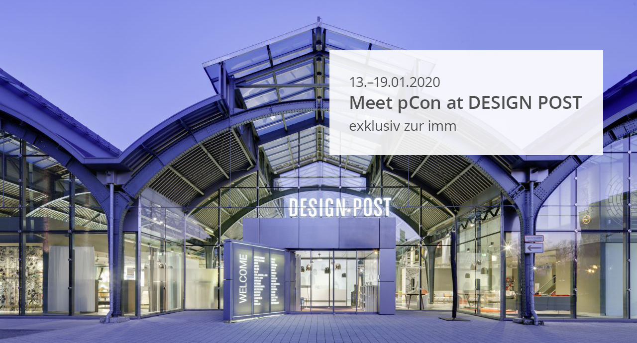 Meet pCon at DESIGN POST