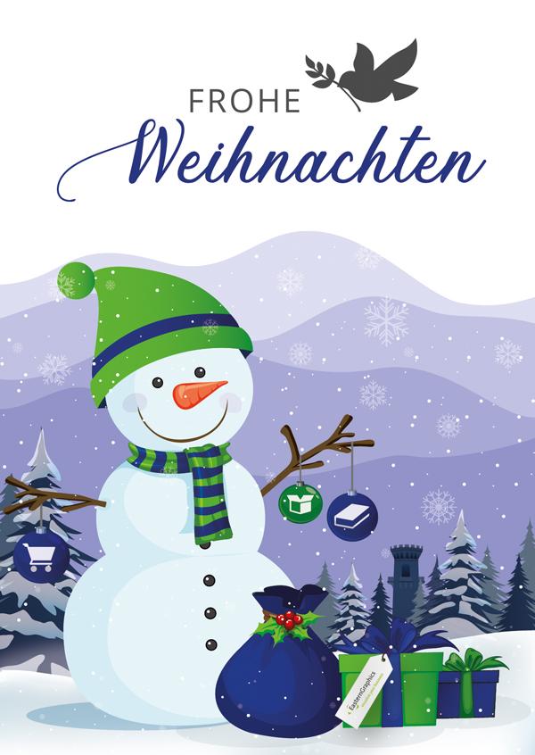 Frohe Weihnachten! Weihnachten