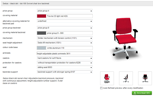 Configure products to your needs.