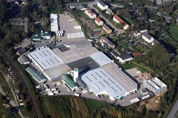 Aerial picture Palmberg: Büroeinrichtungen + Service GmbH